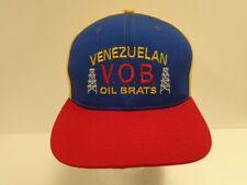 VENEZUELAN OIL BRATS CAP HAT - OIL DRILLING VENEZUELA