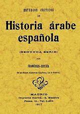 Estudios críticos de historia árabe española. ENVÍO URGENTE (ESPAÑA)