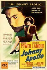 Johnny Apollo (DVD, 2011)