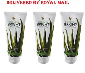 3 X forever living aloe vera toothpaste tooth gel new and sealed