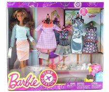 Barbie Pink Passport 10 Pieces Fashion Doll Gift Set