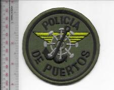 Puerto Rico Federal Police Maritime Unit Policia de Puertos Nacional Patch acu