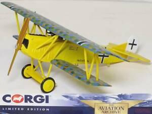 Corgi 1/48 AA38905 Fokker D.VII Luftstreitkrafte Jasta 10, Erich Lowenhardt 1918