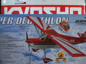 KYOSHO - HYPE RC plane Super Decathlon 1496 mm with RC equipment end HobbyWing