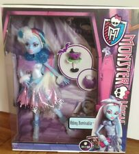 MONSTER HIGH ABBEY BOMINABLE BAMBOLA GHOULS Rule RARA ORIGINALE NUOVO CON SCATOLA