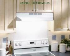 """Broan 41000 Series 24"""" Ductless Undercabinet Range Hood with Charcoal Filter"""