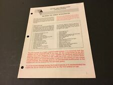 Arctic Cat Snowmobile Setup and Predelivery Instructions '92 Wildcat EFI MC