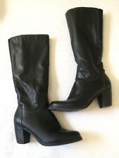 Neutralizer Women's Black Leather Boots Size 9.5 Riding Boots Winter Boots