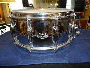 Vintage 1970's Slingerland Gene Krupa 10-lug COB 5x14 Snare Drum EXCELLENT COND!