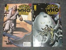 2008 IDW DOCTOR WHO CLASSICS Series 1 issue 9 2 Covers 9, 9RI