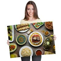 A1 - Arabic Cuisine Middle East Food Poster 60X90cm180gsm Print #21144