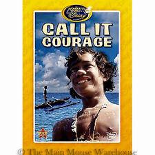 The Wonderful World of Disney Call It Courage Rare Polynesia Polynesian DVD