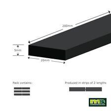 Modelscenery mse513 3 X (rende 6 x 200mm) 5 x20mm PIATTI plastica forma di modellazione
