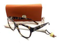 Tory Burch Tortoise Eyeglasses TY 2072 1623 53 mm Porchini Havana