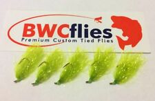 BWCFlies Weed Fly 5 Pack Size 8 Bright For Luderick Blackfish