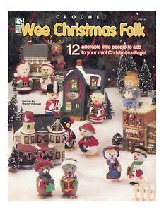 christmas village people crochet pattern 649