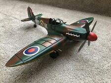 Large World War Spitfire Battle of Britain Model Airplane Tin Ornament Gift 47cm
