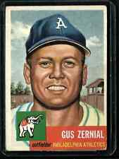 1953 Topps Johnny Groth # 36 EX