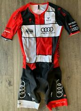 Audi Reno / Tahoe Cycling 2 in 1 Jersey Short Suit by Cuore– Red / Multi – Size