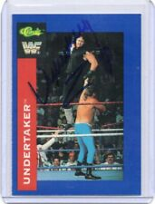 UNDERTAKER 1991 CLASSIC AUTOGRAPH CARD HAND SIGNED RARE! WWF LEGEND SUPERSTAR