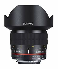 Samyang 14mm F/2,8 ED AS IF UMC Objetivo para Nikon - Negro