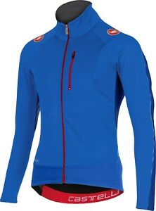 Castelli Trasparente 3 Men's Wind Cycling Jersey : Blue : Large
