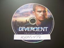 Divergent (DVD, 2014) - PERFECT NO SCRATCHES - DISC ONLY - NO BOX OR CODES