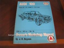 Audi 100 Owner's Workshop Manual Used Good Condition FREE SHIP