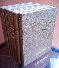 1967 ENCICLOPEDIA DEL CACCIATORE 7 VOLUMI ILLUSTRATISSIMI CINOFILIA UCCELLAGIONE