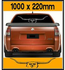 Huge Bundy Bear, Bundy Longhorn, Sticker Decal, 1000 x 220mm