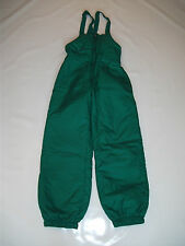 "Childs Green Ski Salopettes Sz Waist 26"" VGC ~ #353"