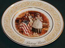 AVON/Wedgwood Lt Ed Plate: BETSY ROSS