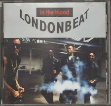 LONDONBEAT In The Blood CD 12 track BOOKLET & LYRICS-Inlay