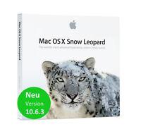 Original Apple Mac OS X 10.6.3 Snow Leopard DVD - Unlimited license