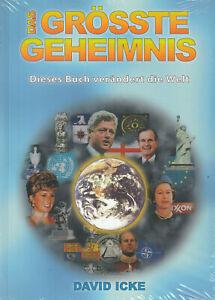 DAS GRÖSSTE GEHEIMNIS - Dieses Buch verändert die Welt - David Icke - NEU