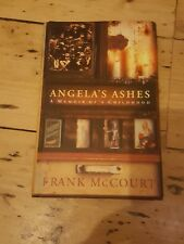 ANGELA'S ASHES Childhood Memoir HARDBACK Book DJ  unread
