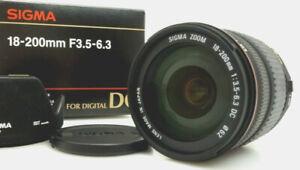 Nikon Sigma Zoom 18-200mm f3,5-6,3 DC for Nikon AF jx050