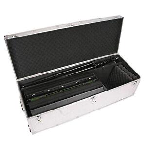 ALFC Alluminum fly case équipements portables de qualité avec des roues