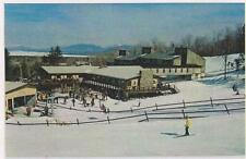 Ski Poster Squaw Mt Base Lodgel 1980 Greenville Moosehead Lake ME Maine