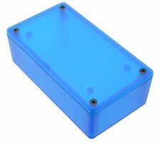 1591XXCTBU Blue Genuine Hammond Translucent ABS Enclosure Box (121 x 66 x 37mm)