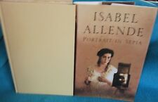 Portrait in Sepia ~ Isabel Allende.  HbDj 2001.  Wonderful saga!   HERE in MELB!