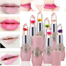 Jelly Flower Clear Magic Color Changing Lip Gloss Balm Moisturizing Lipstick .