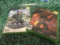 Halo Combat Evolved And Halo 2 Xbox Games Original
