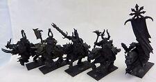 Warhammer 40k GW Chaos Knights mounted army lot