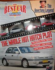 Best Car Mag 92 Norm Beechy Chev Impala Alfa 105 Jaguar Mk2 Vector Ferrari 308GT