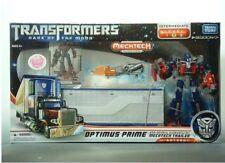 Transformers Dark Of The Moon Da03 Optimus Prime Mechtech Trailer Box Set