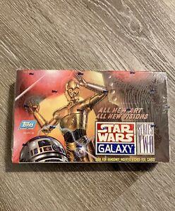 Star Wars Galaxy Series 2 Topps 1994 Hobby Box SEALED Vintage Star Wars Box
