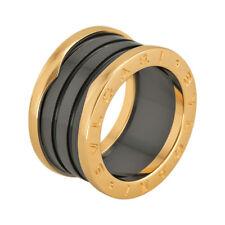 Bvlgari B Zero 18kt Pink Gold Ring - Size 53