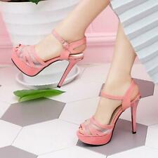 Peeptoe High heels summer sandals womens shoes peeptoe slingbacks party shoes Ne