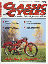 Classic Motor Cycles D 1/95 1995 Velocette Mock Eight Münch Guzzi Cardellino